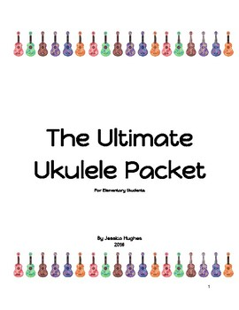 The Ultimate Ukulele Packet