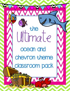 The Ultimate Under The Sea Ocean Theme Classroom Pack