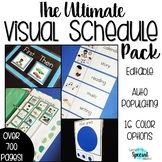 The Ultimate Visual Schedule Pack for Special Education -