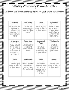 The Ultimate Vocabulary Lesson, Word Wall and Quiz Pack