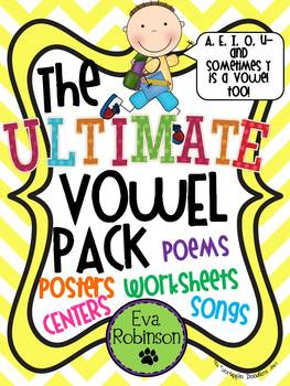 The Ultimate Vowel Pack- Primary Teachers Will Love!