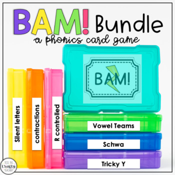 Vowel Sounds Practice Game, Bundle First, Second