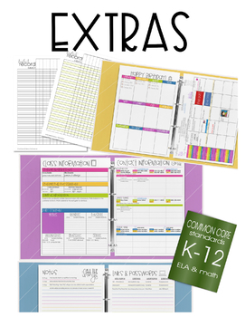 Binder - EDITABLE Digital & Printable Plan Book Templates & MORE ...