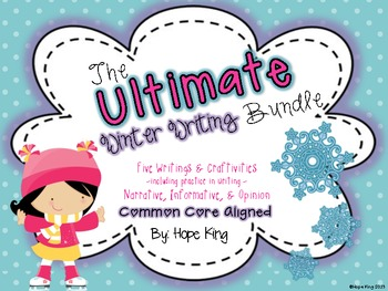 The Ultimate Winter Writing & Craft Bundle {Aligned to Common Core Standards}