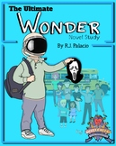 Wonder (R.J. Palacio) Complete Novel Study Top Product!!! (Sale Limited Time*)