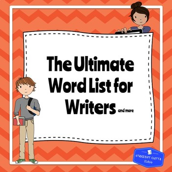 The Ultimate Word List for Writers and More