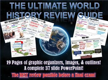 The Ultimate World History 2 Review Packet Bundle