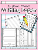 The Ultimate Writing Paper Megapack: dotted, lined, graph, picture, check-list