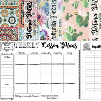 The Teacher planner & Binder