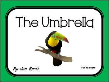 The Umbrella by Jan Brett    50 pgs Common Core Activities