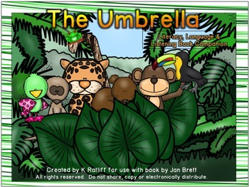 The Umbrella:  Literacy, Language and Listening Book Companion