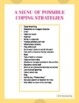 """The Umbrella Plan: A """"Coping Skill"""" Counseling Strategy"""