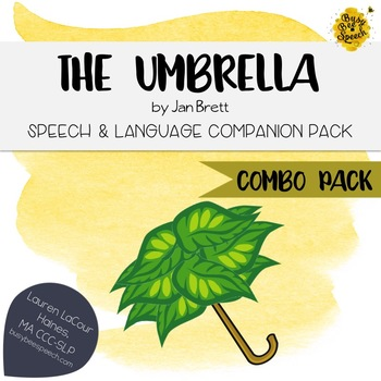 The Umbrella Speech & Language Combo Pack