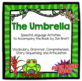 The Umbrella (Speech Therapy Book Companion)