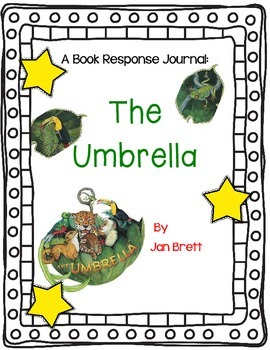 The Umbrella by Jan Brett- A Complete Book Response and Research Journal