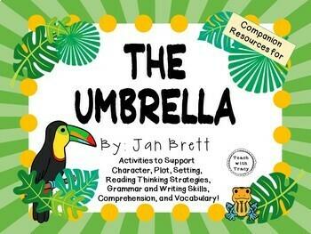 The Umbrella by Jan Brett:  A Complete Literature Study!