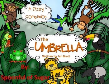 The Umbrella by Jan Brett (A Story Companion)