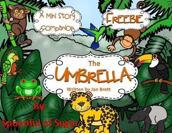 The Umbrella by Jan Brett Mini-Companion Freebie
