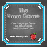Oral Language Game