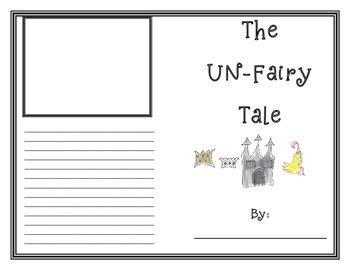 FREE The Un-Fairy Tale Writing Lesson