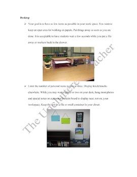 The Uncluttered Teacher-Classroom Organization, Clutter & Time Management Tips
