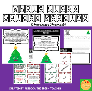 The Undecorated Christmas Tree- A Christmas Themed Reading Activity