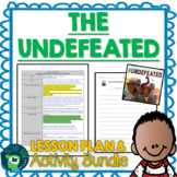 The Undefeated by Kwame Alexander Lesson Plan & Activities
