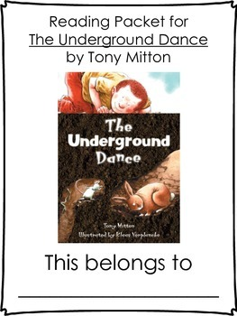 The Underground Dance: Tony Mitton