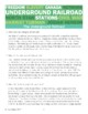 Underground Railroad Informational Texts Activities