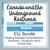 The Underground Railroad ESL Bundle