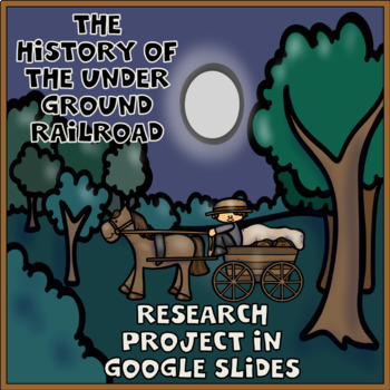 The Underground Railroad Digital Research Project in Google Slides™