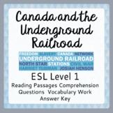The Underground Railroad (ESL 1)