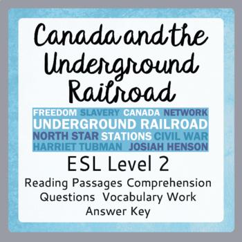 The Underground Railroad (ESL 2)
