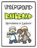 The Underground Railroad Lapbook - Kindergarten - 2nd Grad