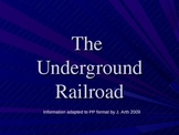The Underground Railroad Myths and Facts Companion to Scholastic