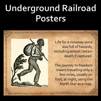 The Underground Railroad Posters