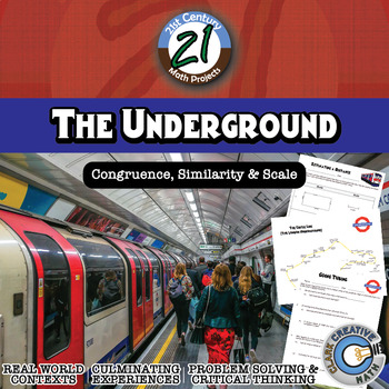 The Underground -- Distance & Scale Modeling - 21st Century Math Project