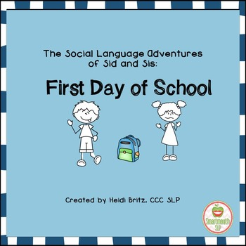 Social Skills Story: First Day of School