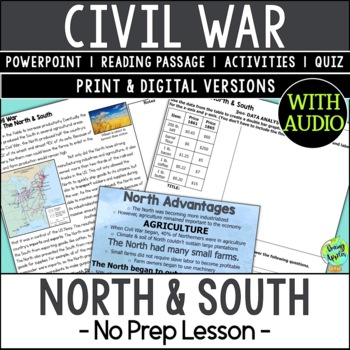 The Union & Confederacy, The North & South, American Civil War, US Civil War
