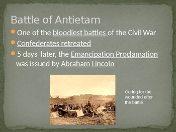 The Civil War and Reconstruction - The Union Moves Toward Victory PowerPoint