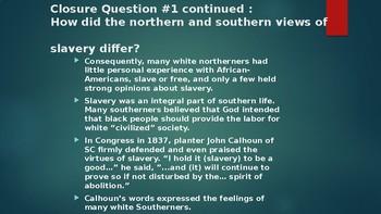 American History II - The Civil War