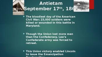 American History VII - The Civil War