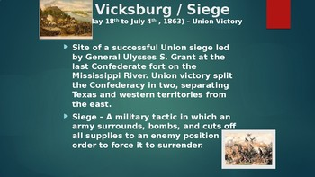 The Union in Crisis VIII: The American Civil War