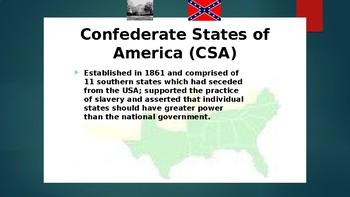 The Union in Crisis V The American Civil War