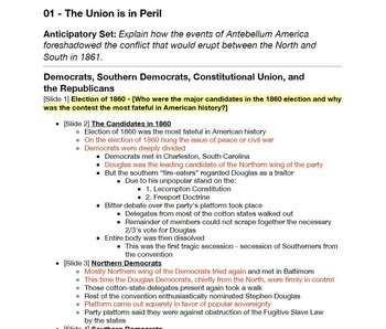 The Union is in Peril