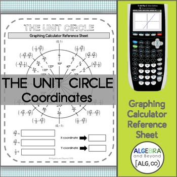 The Unit Circle - Coordinates (Graphing Calculator)