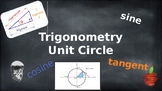 The Unit Circle - Lesson, Notes, Assignment, Quiz and Test