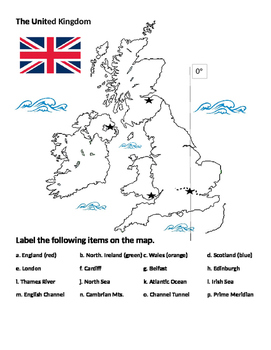 The United Kingdom - Review Map