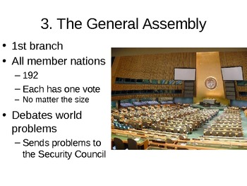 The United Nations - 27.7 Powerpoint - World War II