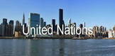 The United Nations - General Assembly and Security Council